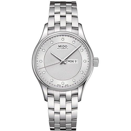 Mido Damen-Armbanduhr XS Belluna Analog Automatik Edelstahl M0012301103691