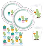 Procos 10118517Party Set Cactus