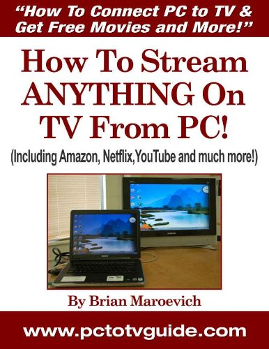 How To Connect PC to TV & Get Free Movies and More! (Eng