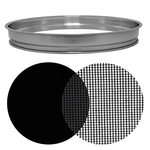 Extender Ring Compatible with Nuwave Oven Dome Pro Plus, Elite & More – 1.5'' Stainless Steel Accessories and Replacement Parts by INFRAOVENS
