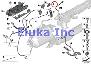 BMW Genuine Fuel Injection Differential Pressure Sensor X5 3.5d X5 35dX 335d 740LdX 535d 535dX X5 35dX 328d 328dX 328dX