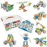Gxi Bloques de Construcción, Aprendizaje de Juegos de Construcción Educativa para Niños y Niñas, Juguetes para Niños de 5, 6, 7 8 9 10+ Años
