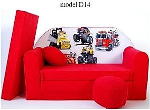 H50cm Cartoon DollS Poltrona per bambini peluche piccolo divano,Giallo,W50 20 * 20inch XZ Moderna bambini divano