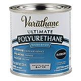 Varathane 200261H Water-Based Ultimate Polyurethane, 8 Fl Oz (Pack of...