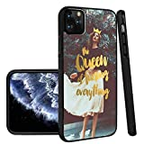 The Queen of Fucking Everything iPhone 11 Pro Phone Case Black TPU Protective case Shockproof Non-Slip Soft Designed The Queen of Fucking Everything case for iPhone 11 Pro
