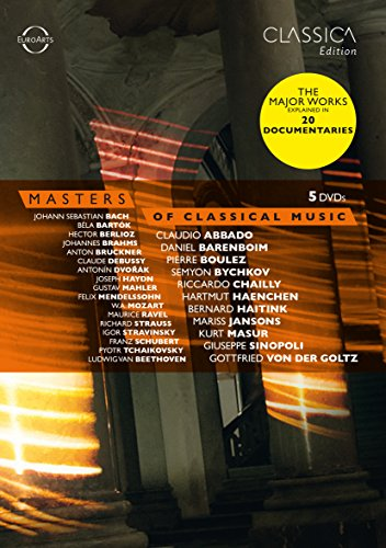 Masters of Classical Music [5 DVDs]
