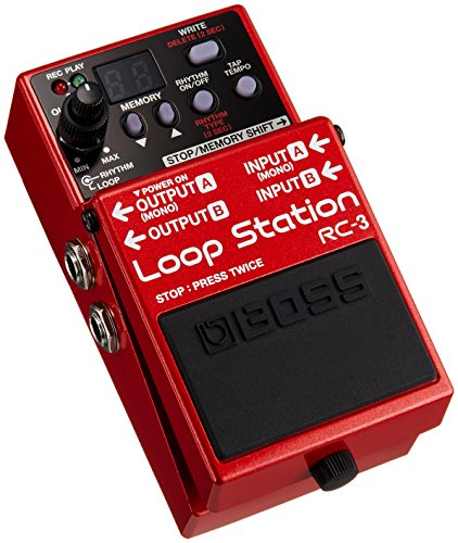 loop station review comparison loopstation boss rc3 looper