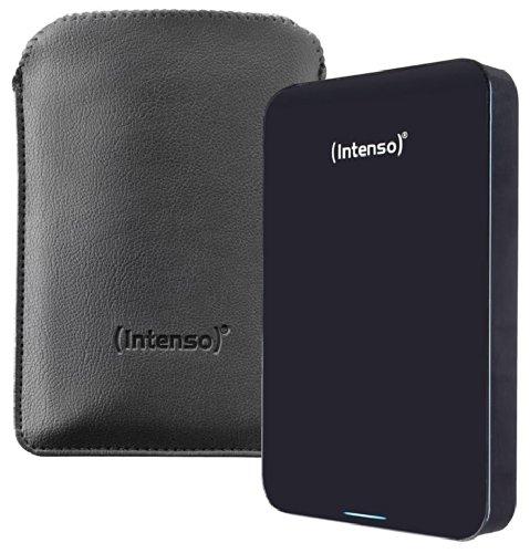 Intenso 1.75TB 2,5 Zoll USB 3.0 Externe Festplatte (1750 GB, 2,5 Zoll / 6,4 cm), Schwarz