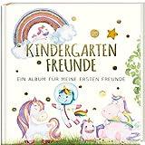 Kindergartenfreunde - EINHORN: ein Album für meine ersten Freunde (Freundebuch Kindergarten 3 Jahre) PAPERISH®