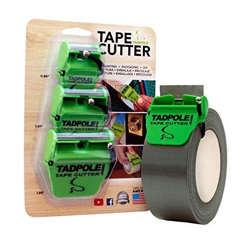 TADPOLE 3PackTad Tape Cutter Combo, 3 Piece