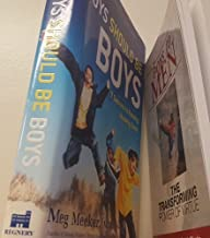 2 Volumes of Male Mentoring Books: 1) Gray&Martin's Boys To Men The Transforming Power of Virtue 2) Dr.Meeker's Boys Should be Boys