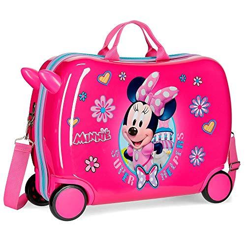 Disney Super Helpers Equipaje Infantil, 50 cm, 39 litros, Rosa