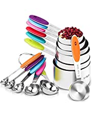 Measuring Cups and Spoons Set, Measurement Conversion Chart