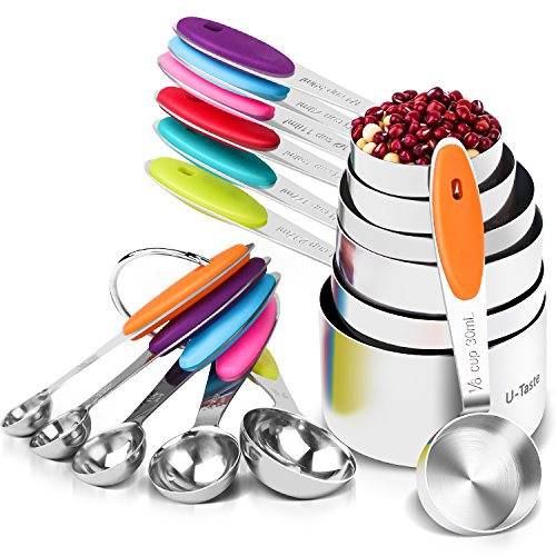 12 Piece Measuring Cups and Spoons