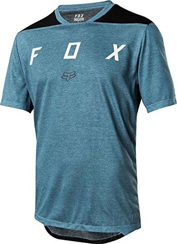 Fox Indicator SS Mash Camo Jersey, Blue, Tamaño M