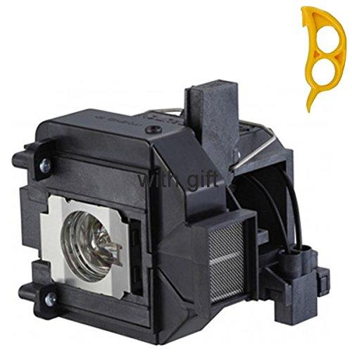 Lâmpada original MY LAMPS ELPLP69 / V13H010L69 com invólucro para EPSON PowerLite Home Cinema 5010/5010e/5020UB/5020UBe, PowerLite Pro Cinema 6010/6020UB; EH-TW8000/TW8500C/TW8510C/tw8515c/TW9000/TW9000W/TW9000W/TW9000W/TW9000W/TW8000W/TW8510C/TW8510C 9500C/TW9510C