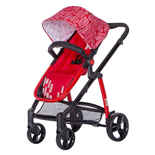 Affordable Dream On Me Mia Moda Marisa Three-in-One Stroller, Red