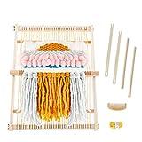 Kit de Telar Telar de Máquina Manual para DIY Tejer de Madera para Lana Hecha a Mano o Kit de Telar de Hilo(51 x 40 cm)