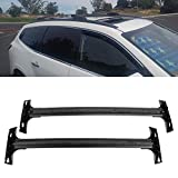 LONGKEES Aluminum Roof Rack Cross Bars Luggage Cargo Carrier Rails for 2009-2017 Traverse
