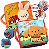Best Soft Books For Babies - Premium Baby Book (First Year), Cloth Book Ba Review