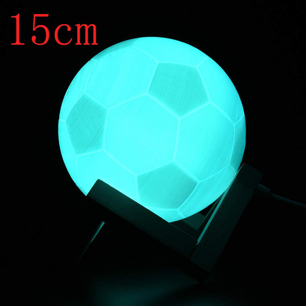 Lámpara de Mesa con luz LED 3D USB para futbolín: Amazon.es ...