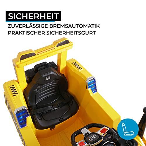 RC Auto kaufen Kinderauto Bild 5: Actionbikes Motors Kinder Elektro Radlader D2810 - 50 Watt Motor - Weichgummiring Reifen - 2,4 Ghz Fernbedienung - Soft Start*