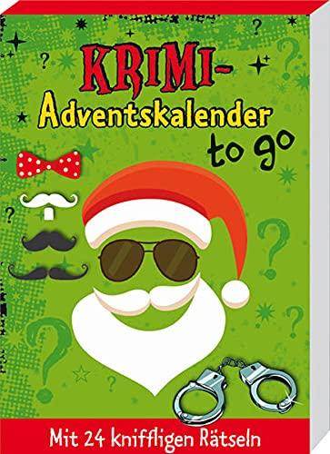 Krimi-Adventskalender to go: Mit 24 kniffligen Rätseln (Adventskalender für Erwachsene - 24 Rätsel)