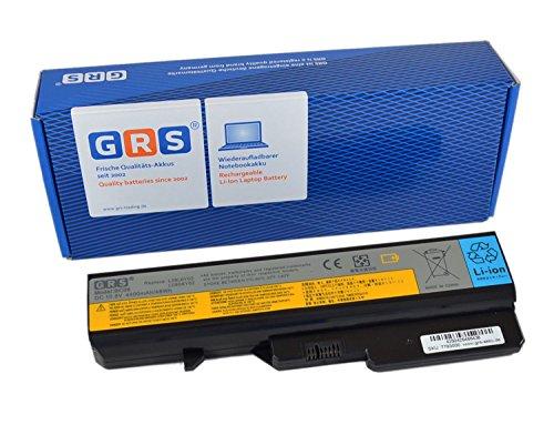 GRS Akku für Lenovo IdeaPad G460 G560 G570 G575 ersetzt: L09N6Y02 L09S6Y02 121001091 L09L6Y02 121001095 L10P6Y22 L09C6Y02 LO9S6Y02 L10C6Y02 Laptop Batterie 4400mAh