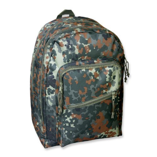 Mil-Tec Day Pack Sac à dos Marron Camouflage