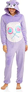 Care Bear License Womens Share Bear Union Suit One Piece Pajama Set (3X / 22W-24W)