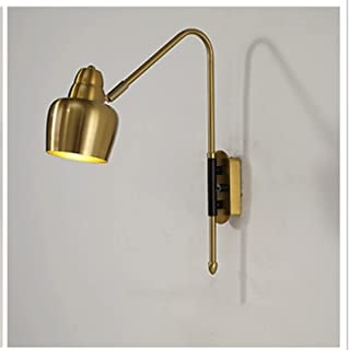 Sconce/Wall Sconces Industrial Wall Sconce Lighting, Adjustable Swing Arm Wall Lamp for Bedside, Vintage Style Wall Light ...
