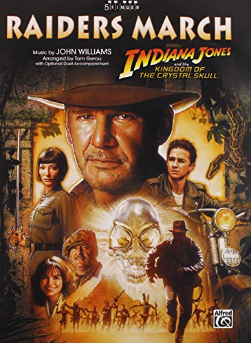 Raiders March (from Indiana Jones and the Kingdom of the Crystal Skull): Five Finger Piano, Sheet (5 Finger)
