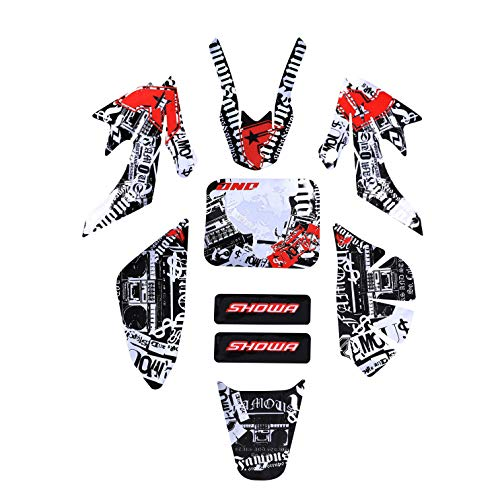 TDPRO Graphics Decal Sticker Fairing Kit for CRF50 PIT PRO Dirt Bike