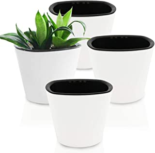 GreenSun Self Watering Planter Eco-Friendly Flower Plant Pots Decorative Gardening Pot 4