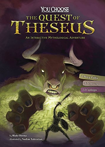 The Quest of Theseus: An Interactive Mythological Adventure (You Choose: Ancient Greek Myths)