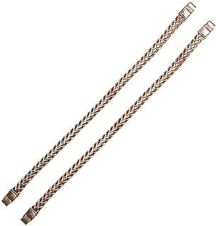 Miche Champagne Metallic Rope Handles