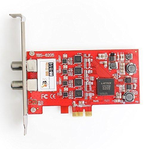 TBS ® 6205 DVB-T2/T/C cuádruple tarjeta capturadora con