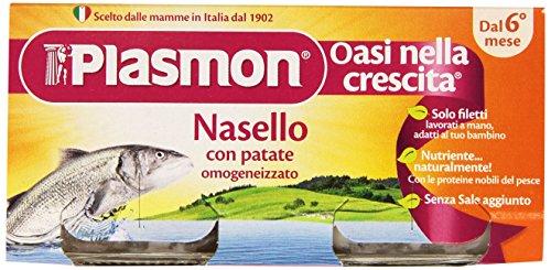 Plasmon Omogeneizzato di Pesce di Nasello e Patate - 160 gr