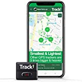 Tracki 2021 Model Mini Real time GPS Tracker. Full USA & Worldwide Coverage. for Vehicles, Car, Kids, Elderly, Child, Dogs & Motorcycles. Magnetic Small Portable Tracking Device.