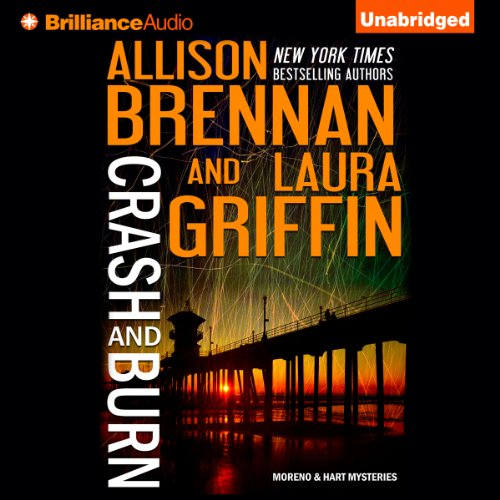 Crash and Burn audiobook cover art