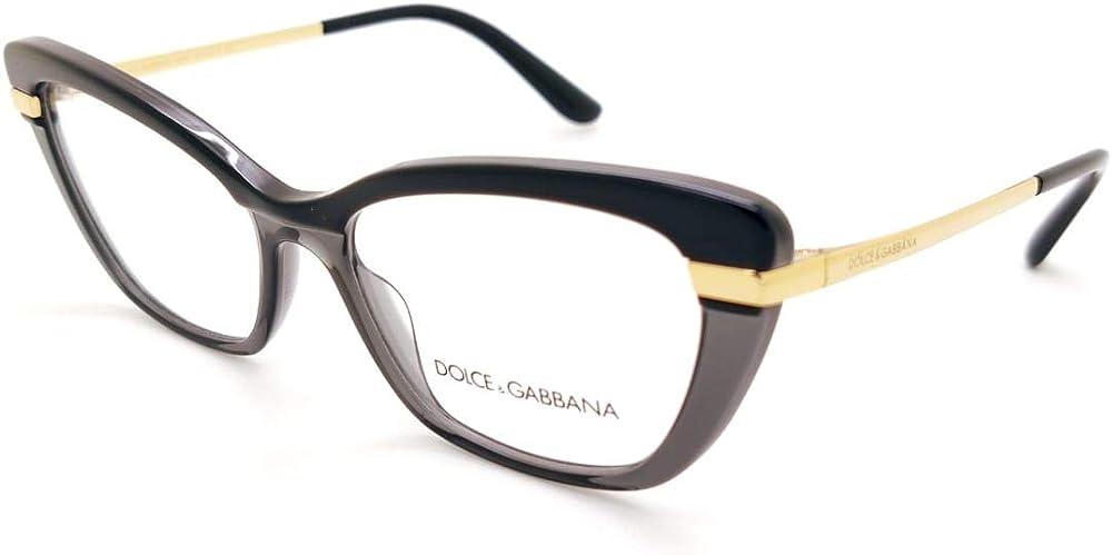 Dolce & gabbana,montatura occhiali da vista per donna HALF PRINT DG 3325