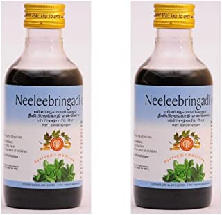 Neelibringadi Oil by AVP - 200ml (Pack of 2) - Increase Growth of Hair