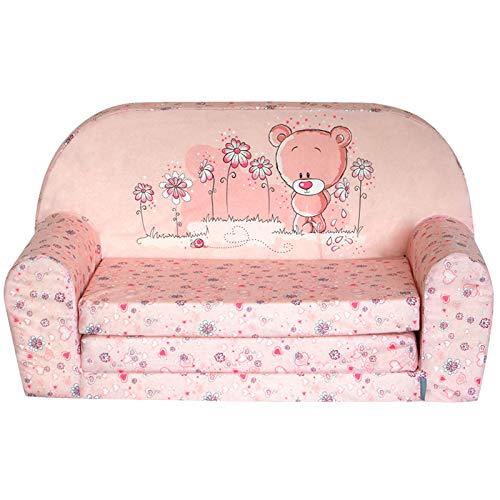 Fortisline Sweet Bear W386_ 04 - Mini sofá infantil, diseño de osito