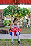 Patiofy Baby Plastic Hanging Swing Chair with Safety Handle/Toddler/Infant Swing with T Bar &...