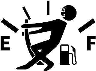 Diseño divertido del indicador de la gasolina imagen engomada del coche del tanque de combustible del casquillo de la etiqueta de coches Decoración Consejo de adorno