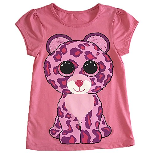 Ty Beanie Boos Girls' Big Beanie Boo SS Tee Shirt Pink, Extra Large
