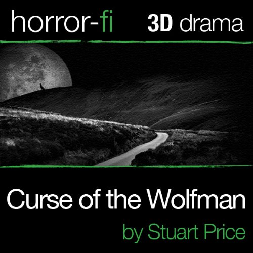 Curse of the Wolfman audiobook cover art