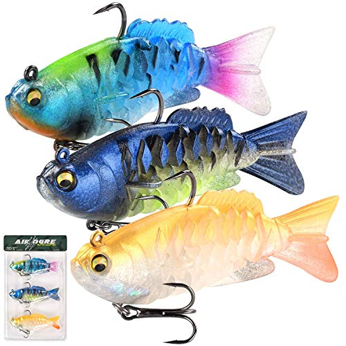 Watalure Sotf Fishing Lures Twitching Swimbait For Bass Pike Musky On
