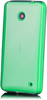 Nokia Lumia 630/635 | iCues Transparent TPU Case Clear | [Screen Protector Included] Clear Rubber Cover Crystal Transparent Silicone Shell TPU Minimalist