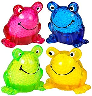 Rhode Island Novelty (12) 2.5 Inch Sticky Squeeze Frogs
